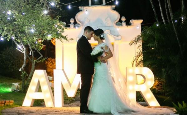 Casamento de Kenya e Thiago no Green House Buffet - foto Raphael Peregrino