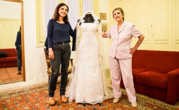 Lourdinha e Ruth Guimarães. Foto: Claudia Queiroz