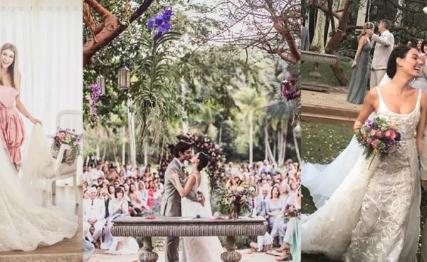 Vestido de noiva de Isis Valverde - Foto Studio Laura Campanella - Eu Amo Casamento