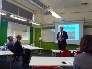 Vice Chancellor of Kristianstad University, Mr. Håkan Pihl opened the kick-off meeting