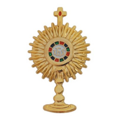 Monstrance pin