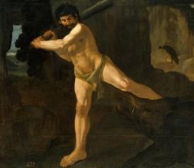 Lucha de Hércules con el jabalí de Erimanto