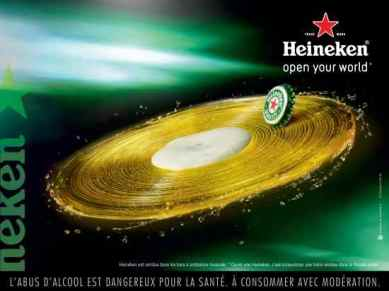 Capsule plaisir Heineken