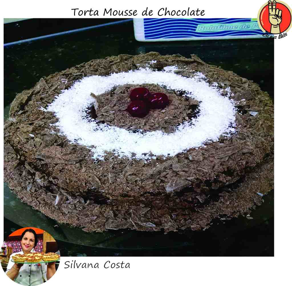 Torta Mousse de Chocolate