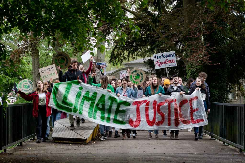 Young people took part in European elections because of climate