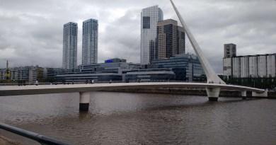 puerto madero puente de la mujer 1 dia em buenos aires argentina