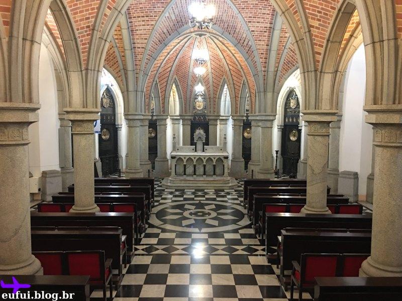 cripta da catedral da sé centro sao paulo
