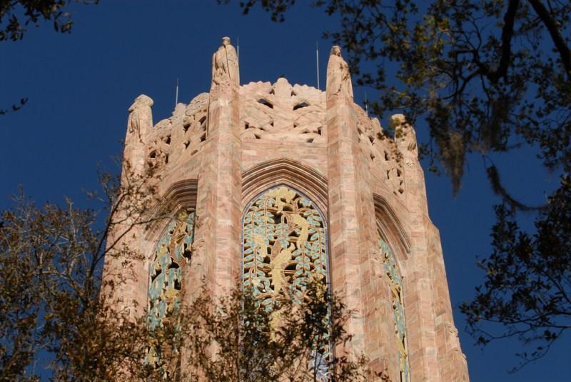 bok tower gardens topo da torre