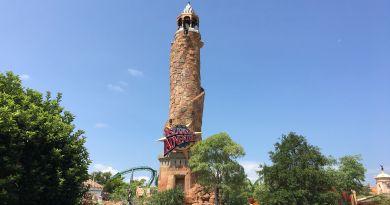 Islands of Adventure parques universal studios resort torre entrada orlando
