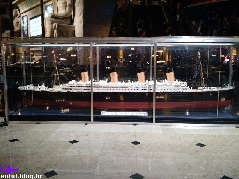 luxor hotel titanic las vegas