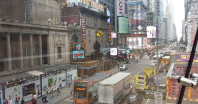 ruas de new york 42st