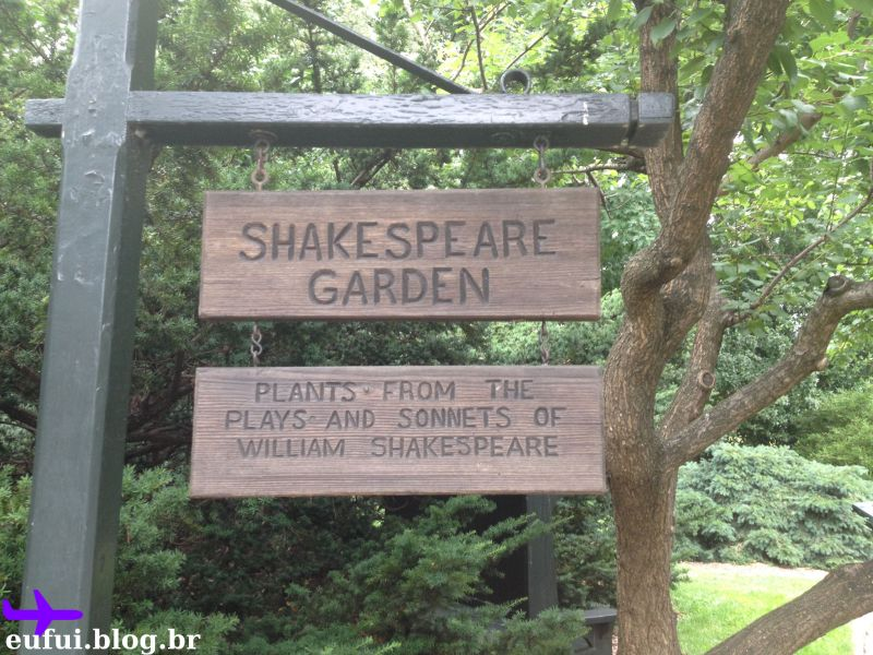 jardim botanico do brooklyn shakespeare garden