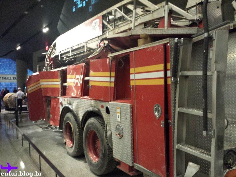 11 de setembro carro de bombeiro