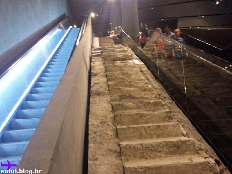 11 de setembro museu escada