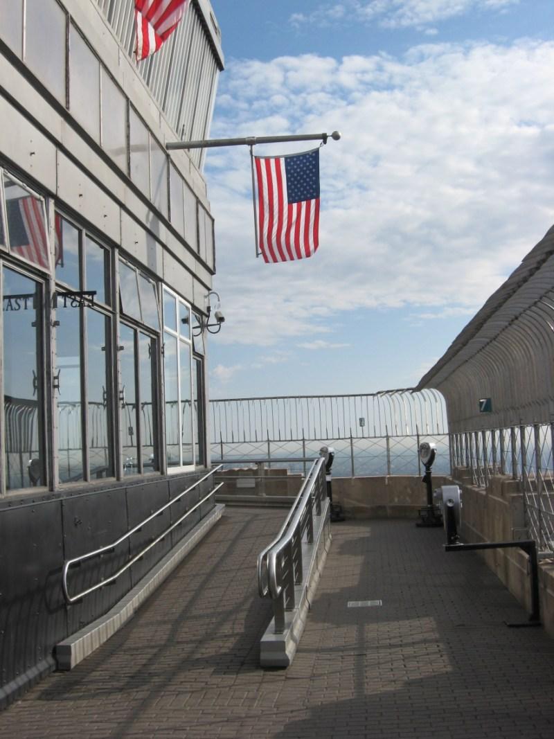 manhattan empire state building deck 86