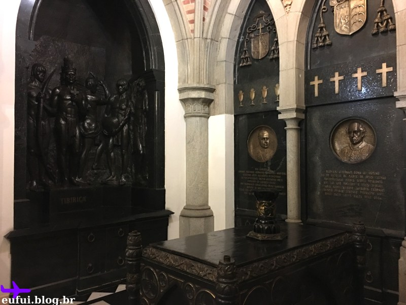 cripta da catedral da sé indio tibiriça