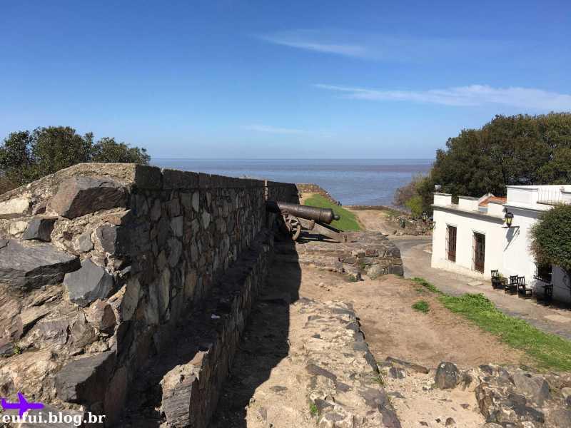 colonia del sacramento uruguai muro
