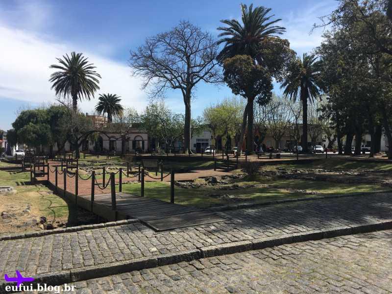 colonia del sacramento uruguai plaza de armas