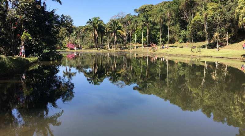 jardim botânico de são paulo lago