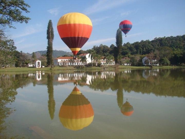 Passeio de Balão em Itupeva no interior de São Paulo - Lago