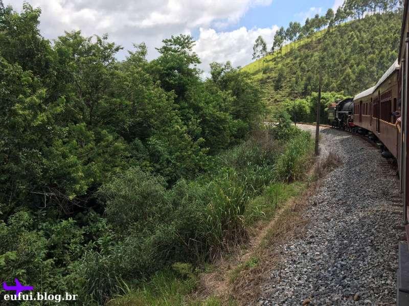 Trem de Guararema - Vagões