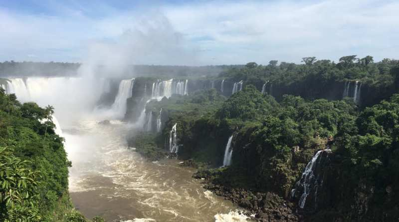 Trilha das Cataratas do Iguaçu - Quedas Rio - Foz do Iguaçu