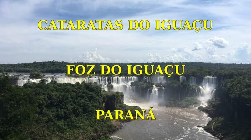 Cataratas do Iguaçu em Foz do Iguaçu no Parana