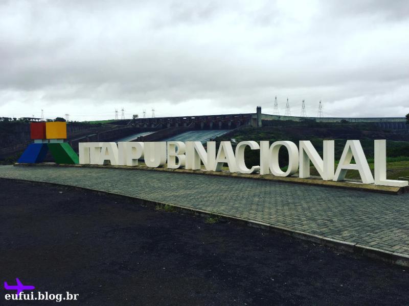 Itaipu Binacional em Foz do Iguaçu Paraná