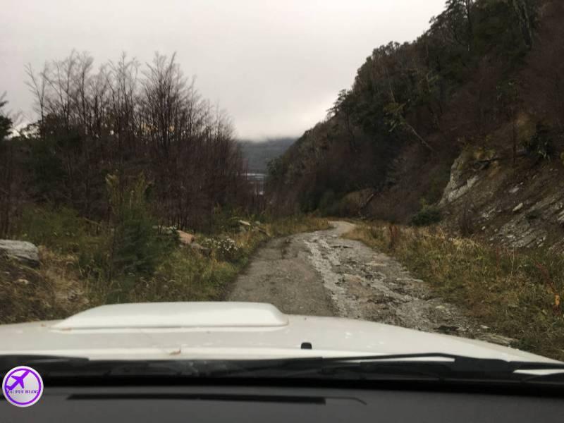 4x4 em Ushuaia - Caminho para o Lago Escondido