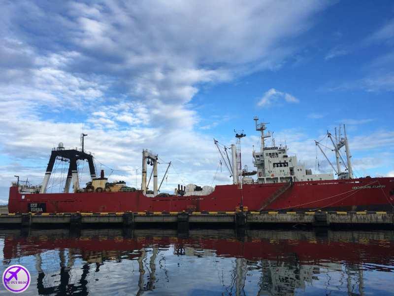 Navegação pelo Canal do Beagle em Ushuaia - Porto Comercial - Barcos