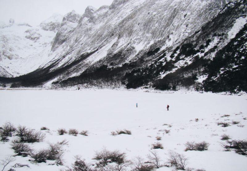 Caminhada na Laguna Esmeralda no Inverno - Ushuaia - Terra do Fogo