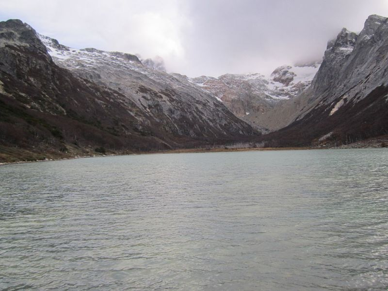 Laguna Esmeralda no Outono - Ushuaia - Terra do Fogo