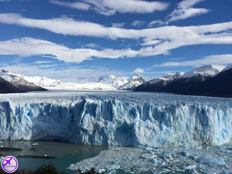 Glaciar Perito Moreno e Lago Argentino em El Calafate - Argentina