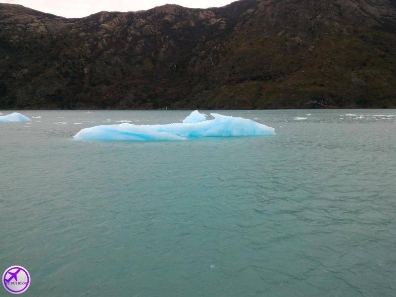 Bloco no Lago Argentino - Rios de Hielo em El Calafate - Argentina