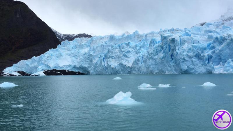 Blocos de Gelo da Geleira Spegazzini - Rios de Hielo em El Calafate - Argentina