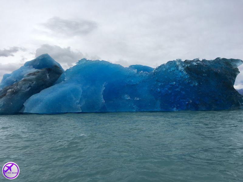 Iceberg no Lago Argentino - Rios de HIelo em El Calafate - Argentina