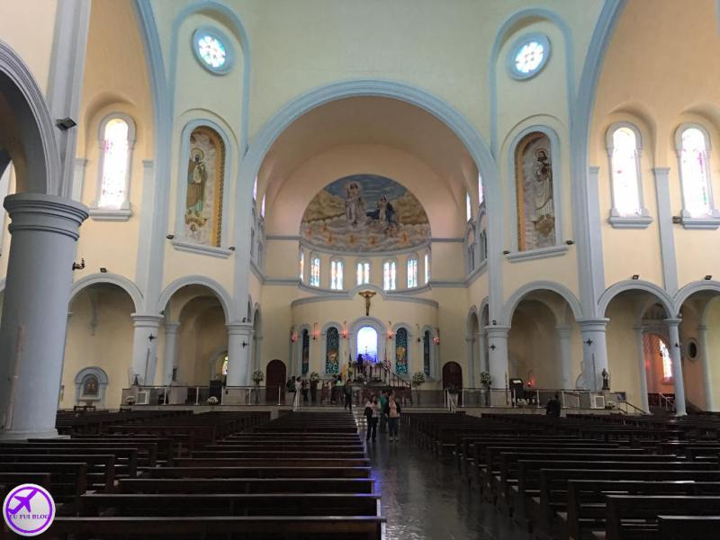 Interior da Basílica da Penha em São Paulo