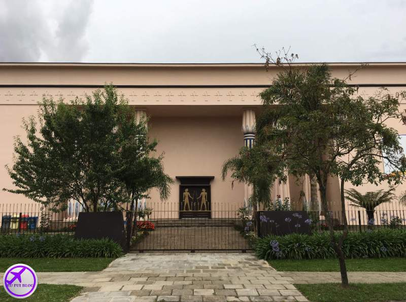Fachada do Museu Egípcio de Curitiba - Paraná