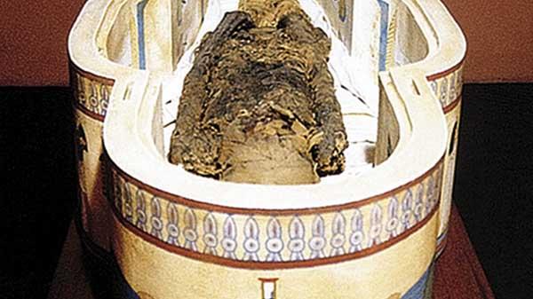 Múmia Tothmea - Museu Egípcio de Curitiba - Paraná