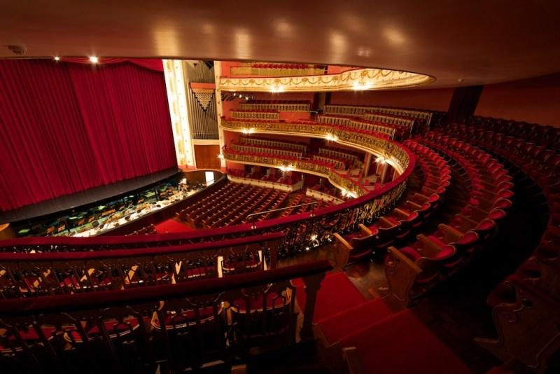 Plateia do Teatro Municipal de São Paulo