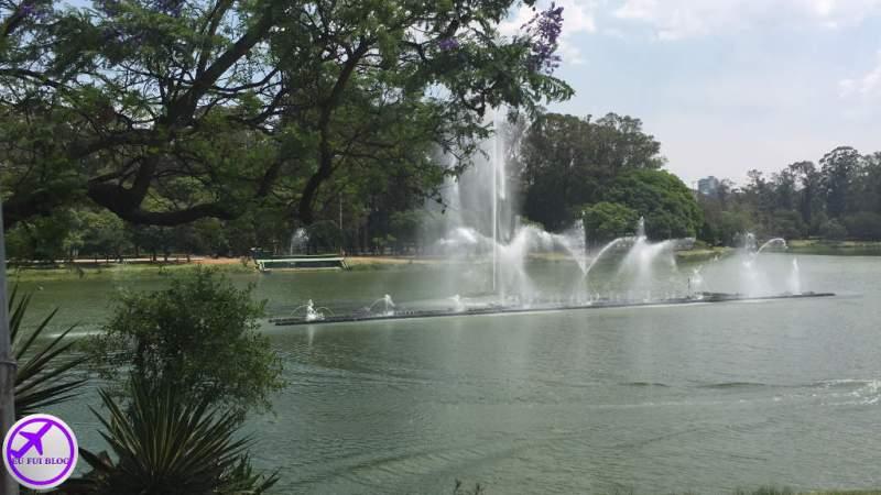 Fontes do Parque do Ibirapuera - Parada do Circular Turismo de São Paulo