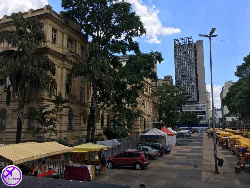 Praça da República - Saída do Circular Turismo de São Paulo