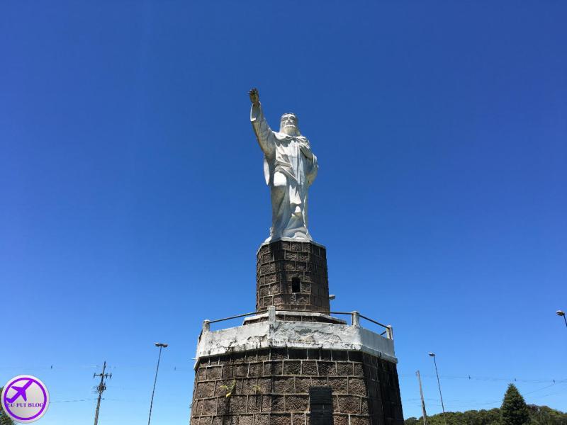 Mirante do Cristo no Parque Estadual do Monge - Gruta do Monge - Lapa - Paraná