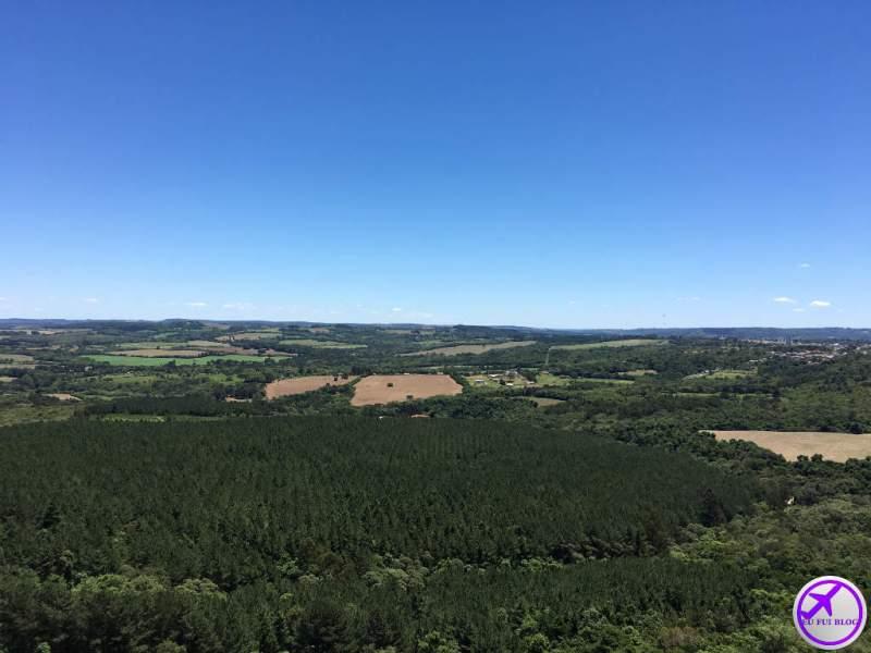 Vista do Mirante Parque Nacional do Monge - Gruta do Monge - Lapa - Paraná