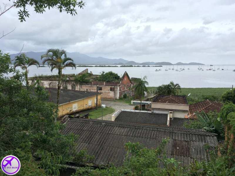Vista da Costa de Antonina - Trem para Morretes em Curitiba - Paraná