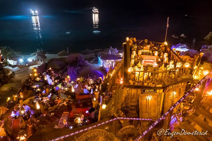 Cafeneaua Farsha noaptea, Sharm el-Sheikh
