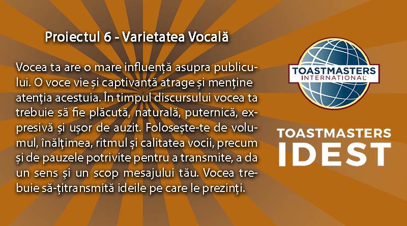 Proiect 6 fundal portocaliu mica  - Diferiţi dar complementari! - Toastmasters 6