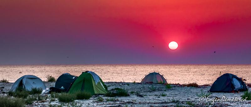 Rasarit la marea cu caiace - Călătoria, cea mai bună alegere pentru dezvoltare personală