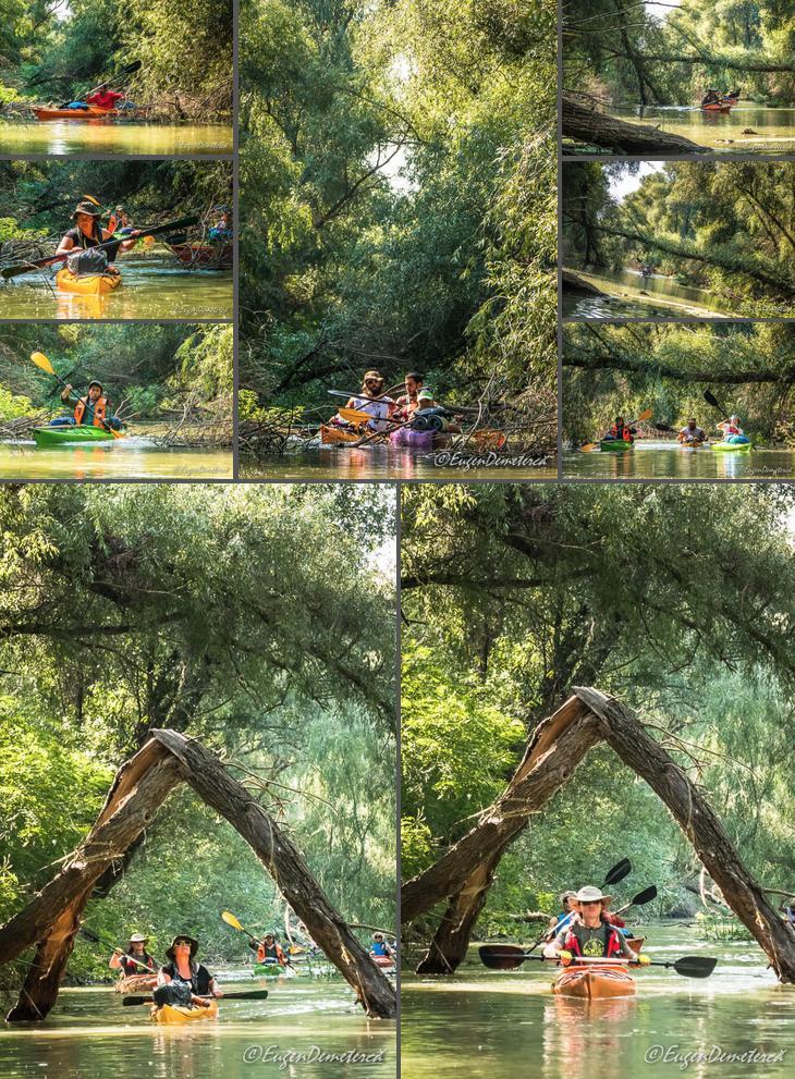7 Canal colmatat Delta1 - Cu caiacul, din Deltă până la mare