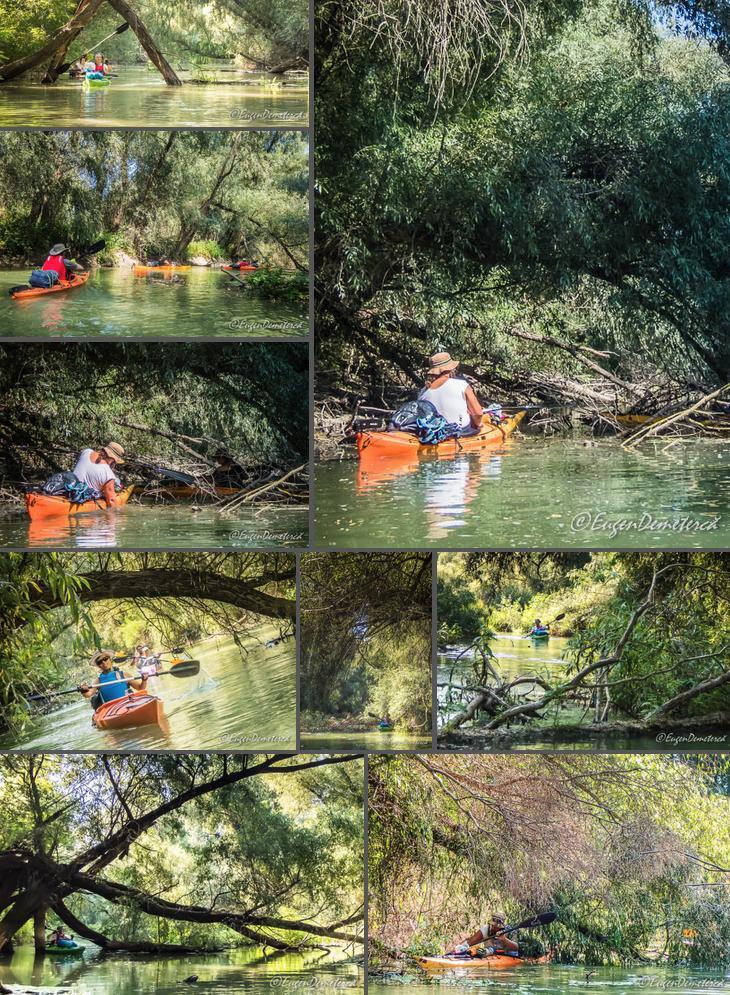 7 Canal colmatat Delta2 - Cu caiacul, din Deltă până la mare